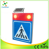 Roadway Safety Led Solar Traffic Sign