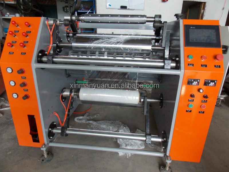 High quality pre stretch film rewinding machine