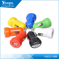 Veaqee New Dual car usb charger quick charge 2.0 car charger Universal car phone charger