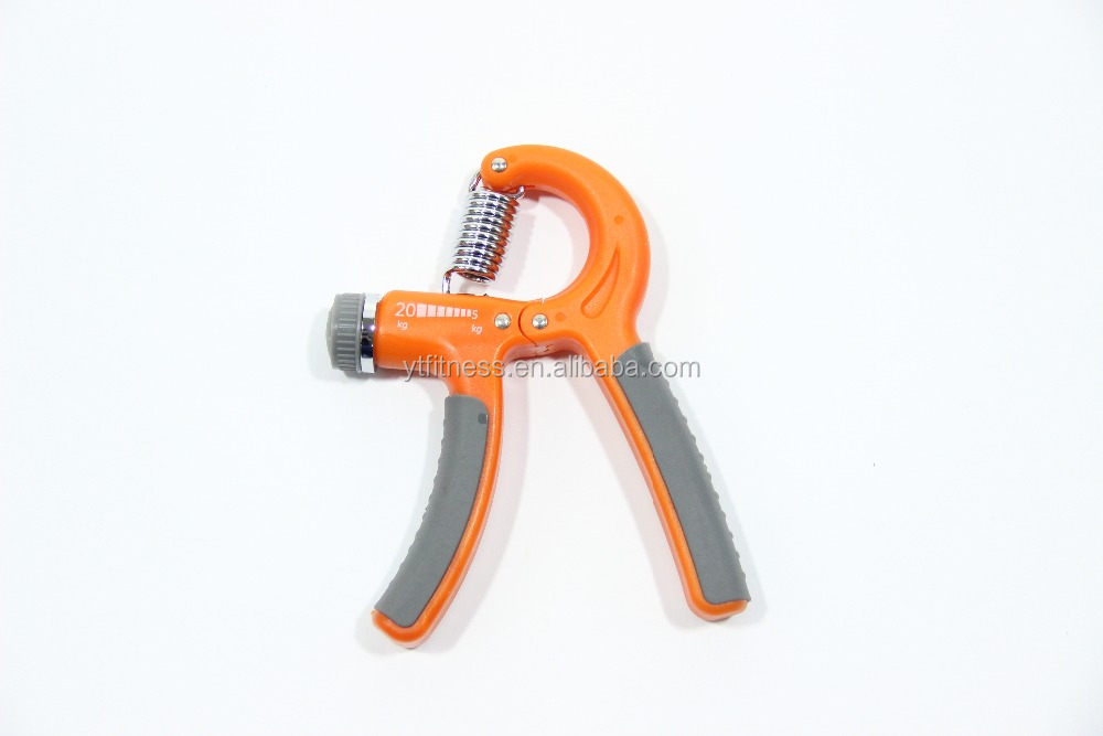 Handgrip strengthener adjustable hand grip resistance 22-88 lbs hand exercise non-slip gripper for athletes pianists ki