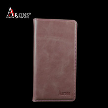 Custom money holder phone case leather case for samsung note 5