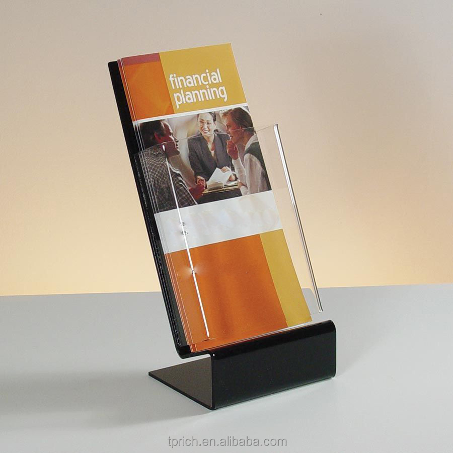 Acrylic brochure stand/ Best Selling/Brochure Display