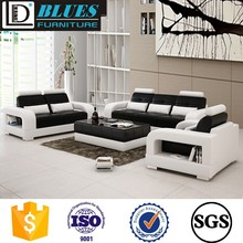 2017 latest leather sofa designs D6086D
