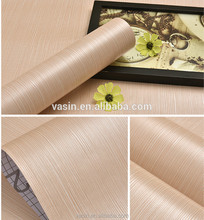 Self Adhesive Wood Grain Vinyl Film for Furniture Decoration,PVC Wood Grain Contact Paper