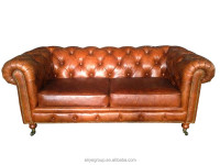 LS502-american no inflatable chesterfield sofa