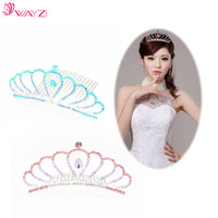 wayzi brand flower girl hair accessories bridal jewelry wedding headband wedding hair pieces