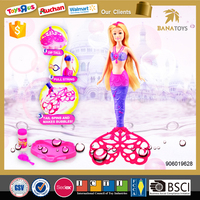 New mermaid bubble toy doll model dress up games for girls