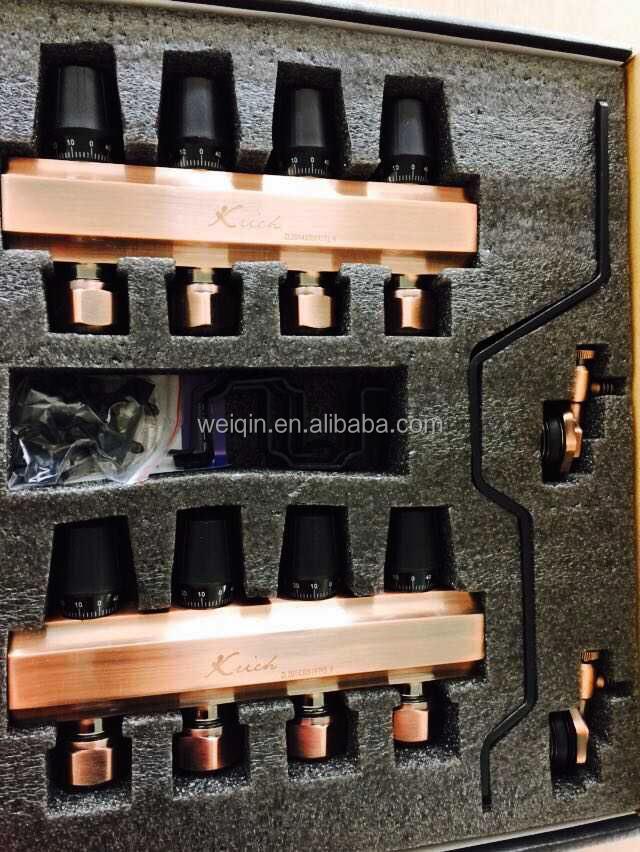 messing fu bodenheizung verteiler mit 2 bis 12 wege ventil nicht undicht handautomatik. Black Bedroom Furniture Sets. Home Design Ideas