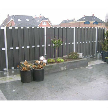 Europe Style,Water Proof 180*180cm WPC Fence,Aluminium Fence