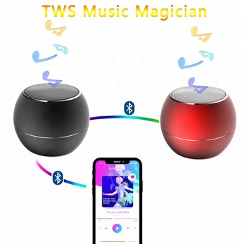 Aluminum TWS Bluetooth Speaker Stereo IPX4 Portable Loud Wireless Outdoor MINI Music