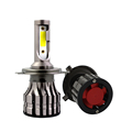 Car accessories car 9v/32v led headlight 5600lm with removable fan