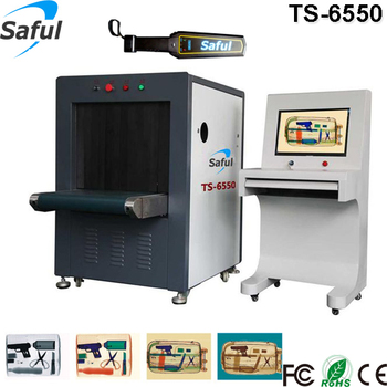 Cost-effective high performance subway station baggage scanner machine TS-6550