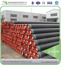 Chinese manufacturer large diameter SSAW welding steel pipes prices chemically prestressed concrete pipe buried pipeline 36inch