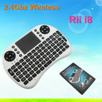 rii i8 2.4g wireless mini keyboard 92 keys mini buletooth keyboard I8 air mouse