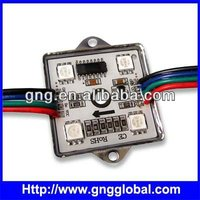 building decoration LED,RGB 5050SMD WS2801 programable led ,33mm,CE led sign board