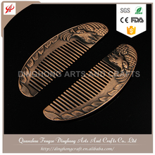 Custom Logo Combs China Beard Comb Metal Eyebrow Comb Bristle