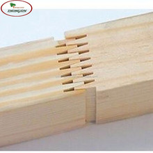 paulownia smooth wood edge glued panel finger joint board