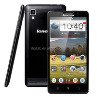 "Original phone 5"" Lenovo P780 MTK6589 Quad Core 1.2GHz 1GB RAM 4GB ROM WCDMA mobile phone"