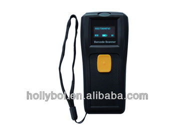 wireless barcode scanner with momery/mini wireless scanner