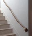 ss 304/316 stainless steel stairs handrail rope railing