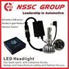 NSSC automatic car hyundai led headlight daytime running white Headlights h1