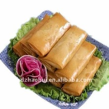 frozen hand-made vegetable spring rolls