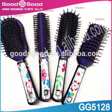 Round,Compact,Vent,Cushion ,paddle Feature and plastic handle Material Hair brush
