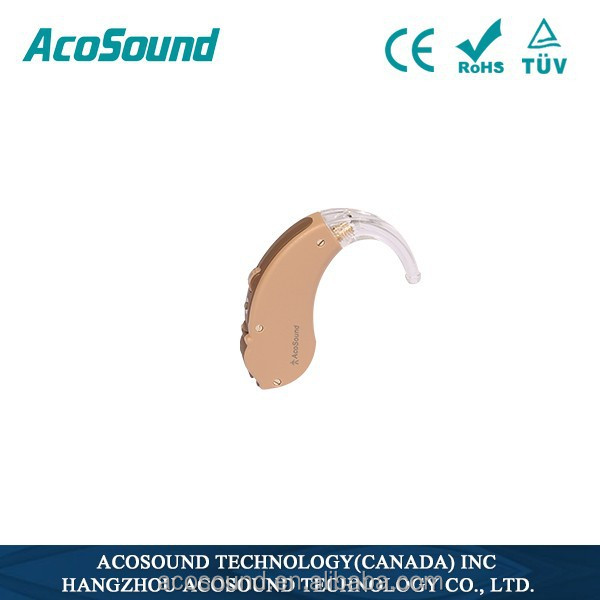 China AcoSound Acomate 410 BTE behind the ear Sound Voice High Quality Health Care Product