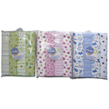 Hot sales 100% Organic Cotton flannel baby blanket fabric
