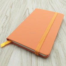Custom blank pu leather a5 a6 planner rope notebook