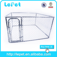 big metal pet dog stainless steel cage
