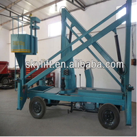 Cheap!! aerial hydraulic boom lift for air container