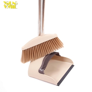 China floor push broom plastic broom and brushes