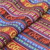 Ethnic Jacquard Fabric Polyester Fabric Upholstery