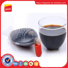 Chinese Fermented Mini Fish Shape dark Soy Sauce