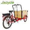 Elegant shape front loading cargo tricycle