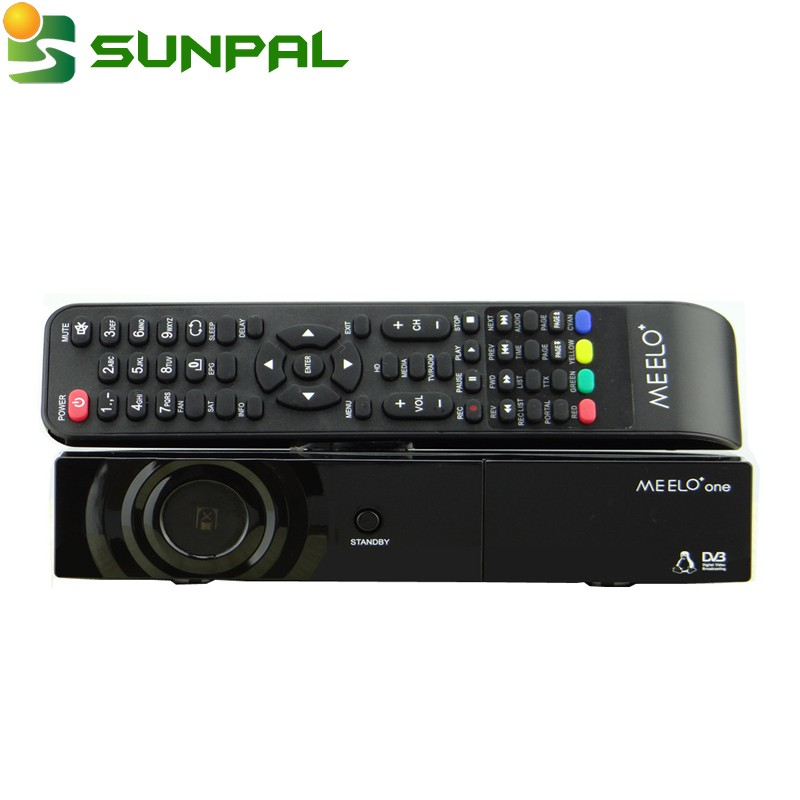 Best selling strong full HD satellite tv receiver MEELO one 750 DMIPS Processor Linux Operating System DVB-S2 is X solo mini 2