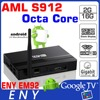 Amlogic S912 factory ENY EM92 octa core tv top box internet tv cable box