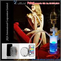 JEJA Remote control 10 LED light,Light Base ,New Small Hookah Water Smoking Pipe LED Hukka Shisha