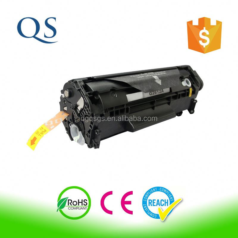 Laser toner cartridge Q2612X for HP laserjet 1020 printer