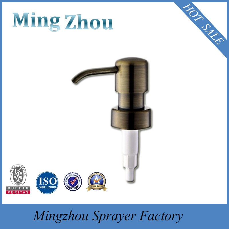 MZ-B17 antique brass automatic perfume sprayer with 24/410 28/400