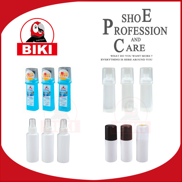 plastic bottles with brush applicator