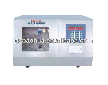 High Accurate Coal Sulfur Analyzer