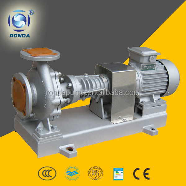 RY explosion proof centrifugal oil pump single stage end suction thermal oil pump