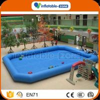 Good price inflatable water pool for sales advertising inflatable water pool