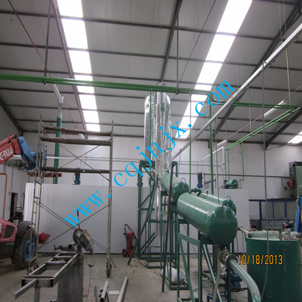 waste vehicle oil recycling factory