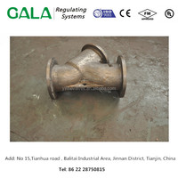 hot sale customized sand casting parts for Y type strainer