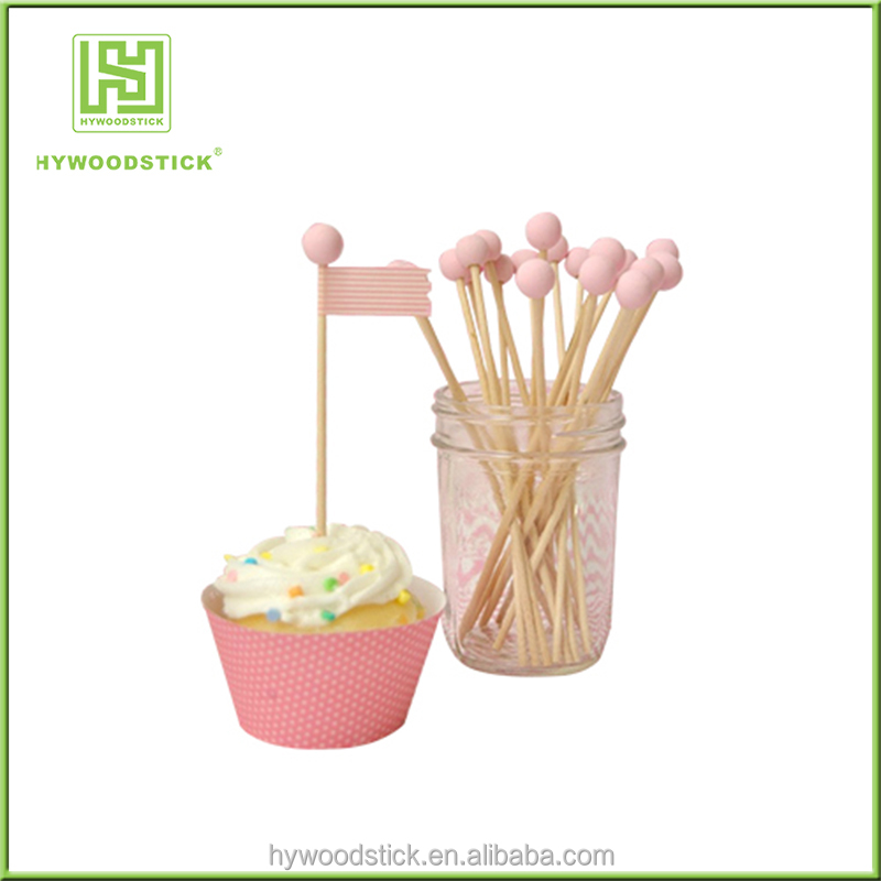 "Wholesale 6"" Wooden Pop Sticks for Cake Pops, Lollipops, Rock Candy Swizzle Sticks"