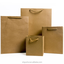 Custom Fancy Retail Carry White Kraft Paper Bag,Square Bottom Paper Bag for Shopping