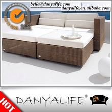 DYBED-D4204 Danyalife Resin Wicker Aluminum Lawn Sofa Bed
